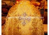 Ιερατική Στολή Ορθόδοξη Συμμετρία Χρυσό Βυσσινί